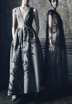 """""""HC's Vagaries"""" Photographed by Paolo Roversi for Vogue Italia September 2013 Supplement"""