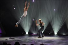 SYTYCD Season 7 Finale; heart-wrenching Travis Wall contemporary piece danced by finalist Kent Boyd and All-Star Neil.