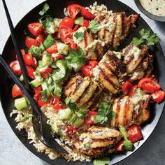 tahini-marinated chi