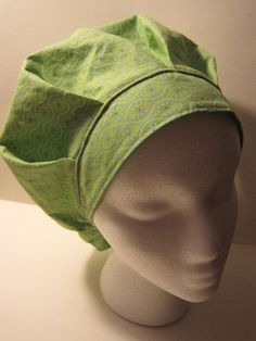 Perfect Size Bouffant Scrub Hat Surgical Hat OR by sewingzen