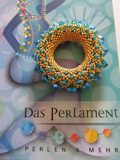 Hamburg Projects; Golden Sun by Petra Tismer by Beadwork by Sian, via Flickr