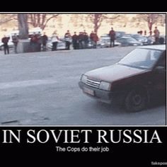 Only In Soviet Russia