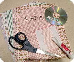 Missionary Mail - DIY CD case template