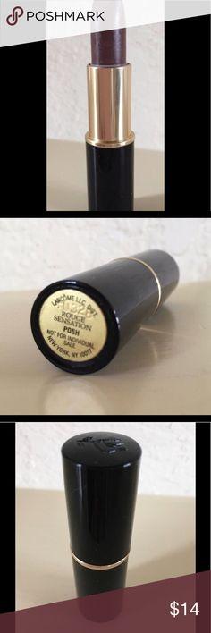 NEW Lancôme POSH Lipstick. Yup that Is Lancôme color called POSH. AWESOME. Lancome Makeup Lipstick