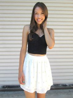 #shopcivilized            #Skirt                    #Ivory #Metallic #Cross #Skirt #SHOPCIVILIZED       Ivory Metallic Cross Skirt | SHOPCIVILIZED                                    http://www.seapai.com/product.aspx?PID=240965