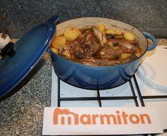 poulet, pomme de terre, cidre, crême fraîche, oignon, lardons, champignon, calvados, Sel, Poivre