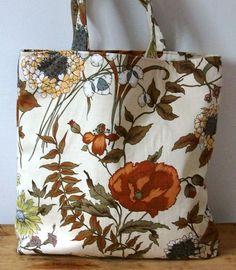Large Fabric Patterned Tote Bag Shopping by RaspberrydazeBespoke, £20.00