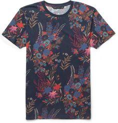 Marc by Marc Jacobs Wichita Floral-Print Cotton-Jersey T-shirt | MR PORTER