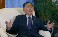 """Actor George Takei distinctly remembers the day the U.S. Army came to his family's suburban California home to take them to a Japanese internment camp.""""..."""