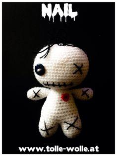 #voodoo #amigurumi #nail