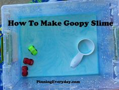 How To Make Goopy Slime