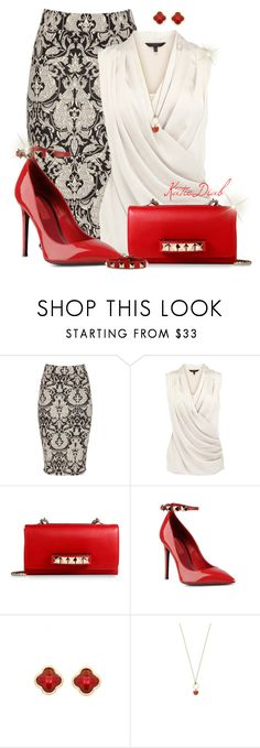 Red Valentino Heels&Clutch by katiediab on Polyvore featuring мода, Coast, Jane Norman, Valentino, Sence Copenhagen and Marc by Marc Jacobs