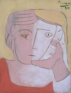 Pablo Picasso 'Head of a Woman', 1924 © Succession Picasso/DACS 2014