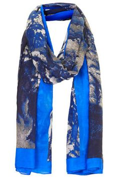 Aerial Print Scarf - Fashion Scarves - Scarves - Bags & Accessories