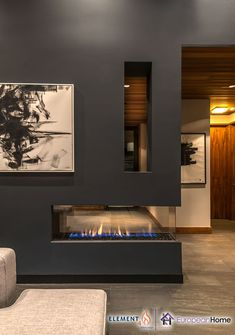 The Lucius 140 by and imported by European Home is a stunning, frameless peninsula fireplace. Featuring full glass on three sides, the Lucius 140 Room Divider makes a beautiful statement in any home. Vented Gas Fireplace, Tv Over Fireplace, Home Fireplace, Modern Fireplace, Living Room With Fireplace, Fireplace Design, Fireplace Glass, Fireplaces, Fireplace Feature Wall