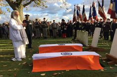 Indian WW1 soldiers laid to rest after French mystery