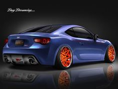 Scion FR-S with Photoshop-ed Rotiforms.
