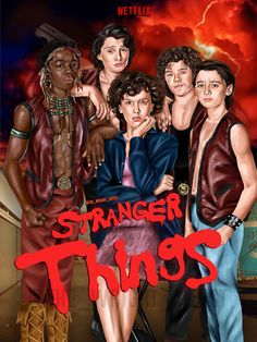 Stranger Things (Warriors) Poster