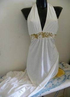 À vendre sur #vintedfrance ! http://www.vinted.fr/mode-femmes/maxi/38300716-robe-baby-phat-empire-decollete-plongeant-dos-nu