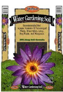 Hoffman 10820 Water Garden Soil, 20 Quarts by Hoffman. Save 25 Off!. $22.42. Use when planting aquatic plants. This product weighs 8 quarts. Water garden soil. Contains a wetting agent to maintain moisture levels. Clay based, heavy weight soil will stay in pot when placed in water and will not float. Use water garden soil when planting aquatic plants. Clay based, heavy weight soil will stay in pot when placed in water and will not float. Recommended for aquatic varieties of subme...