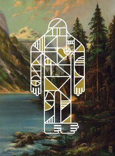 Bigfoot Lives art show in San Francisco