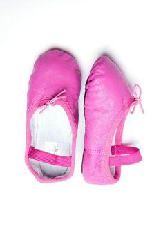 Fuchsia Kids Ballet Flats