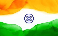 Flag of India, creative, tricolor, Indian flag