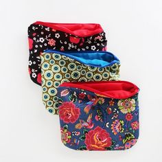 Make a cute pouch in only 30 minutes. Perfect project for beginners! xox