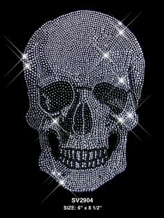 blinged out skull.loves it.<3