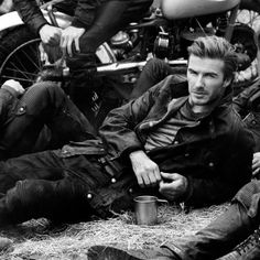 David Beckham for Belstaff SS 2014