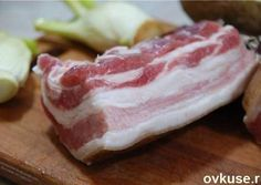 """Delicious """"Prague"""" bacon - prepared according to a specific recipe . - Delicious """"Prague"""" bacon – prepared according to a special recipe that very few know! – The cook Pork Recipes, Chicken Recipes, Cooking Recipes, Charcuterie, Blue Food, Smoking Meat, Special Recipes, Main Meals, Food Truck"""