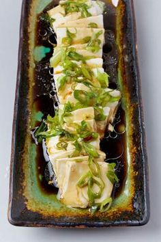 Silken Tofu with Soy Sauce.