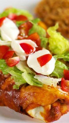 Enchilada Burritos