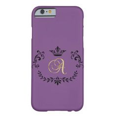 """#monogrammed - #Classy Monogram Letter """"A"""" Barely There iPhone 6 Case"""