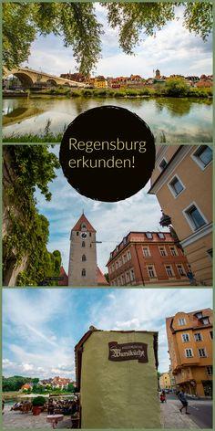 Hier erfährst du, was du an einem Tag in Regensburg machen kannst und was dieses Stadt so besonders macht! Reisen In Europa, Travel Companies, Germany Travel, Wasting Time, In The Heights, Instagram Users, New Experience, Dubai, Regensburg
