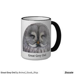 Great Grey Owl コーヒーマグカップ
