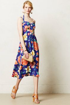 Annona Midi Dress - anthropologie.eu