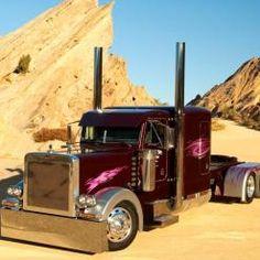 Show Truck Pictures   18 Wheeler Pictures   Custom 18 Wheeler Trucks #youtruckme