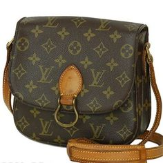 Louis Vuitton Saint Cloud Mm Brown Cross Body Bag $340