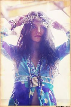 hippie/bohemian/boho pretty T~ Hippie Love, Hippie Bohemian, Hippie Chic, Boho Gypsy, Hippie Style, Bohemian Style, Boho Chic, My Style, Hippie Masa