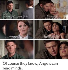 Time and again Dean's true weakness is revealed too.