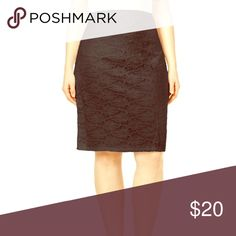 Plus Size Lace Pencil Skirt 💕 Perfect condition, I either never wore it or wore it once. It has an elastic waistband and is lined so it's super comfy! From Macy's. Smoke and pet free home! Looking to only sell on here(: Alfani Skirts Pencil