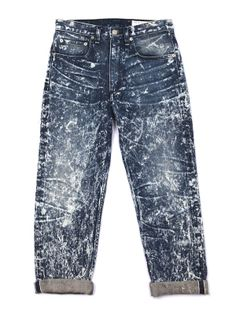 rag & bone /JEAN Marilyn Crop in Acid Wash