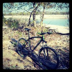 #ShareIG #Perso in #Grava #Lost in the #Riverbed #Tagliamento #MountainBike #MTB #Tree #River #Water #Bike #Lombardo #Sestriere #Stanchezza #Sudore #Sweat #Sport #Relax