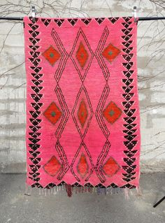 'TANGIER PINK'  AZILAL RUG
