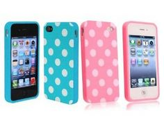 iphone 4 cases for girls | Cute Polka Dot iPhone 4/4s Cases $2.70 shipped!