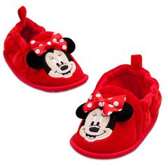 Minnie Mouse Slippers for Baby | Shoes & Socks | Disney Store