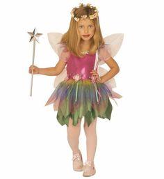 ee6b6ef5b Disfraz de hada de muchos colores para niña Disfraz Niña 2 Años, Disfraz De  Adas