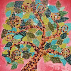 AMO MI MOSAICO: Mural Árbol de la Vida