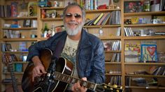 """Nearly 50 years after his first album, the singer-songwriter performs two new songs and two classics: """"The First Cut Is The Deepest"""" and """"Father And Son."""""""